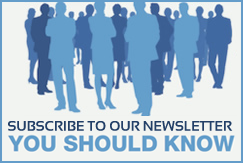 Suscribe to our Newsletter